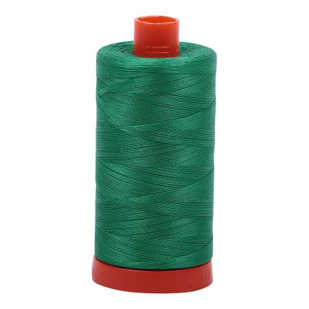 2865 Mako Cotton Thread Solid 50wt 1422yds Emerald