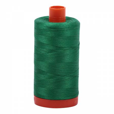 Mako Cotton Thread Solid 50wt 1422yds Green