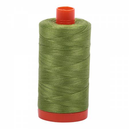 Aurifil Thread Solid 50wt Fern Green 2888 *