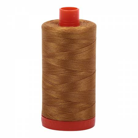 Aurifil Mako Cotton Thread Brass
