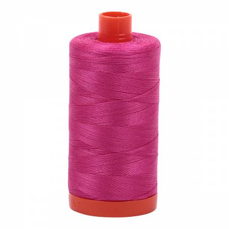 Mako Cotton Thread Solid 50wt 1422yds Fuchsia #4020