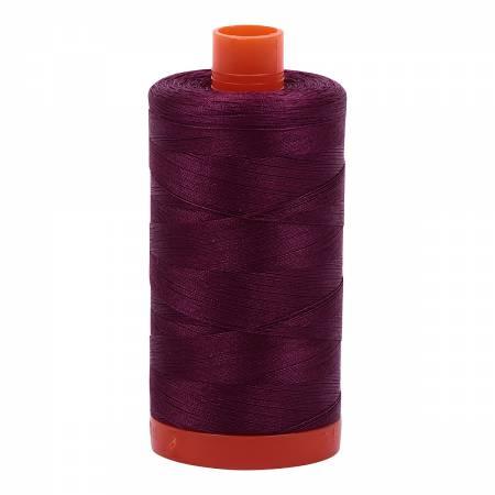 Plum 4030 Aurifil Mako Cotton Thread Solid 50wt 1422yds