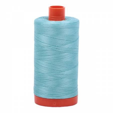 5006 Mako Cotton Thread Solid 50wt 1422yds Light Turquoise