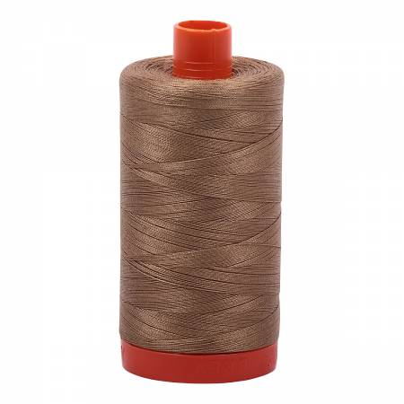 Mako Cotton Thread Solid 50wt 1422yds Toast