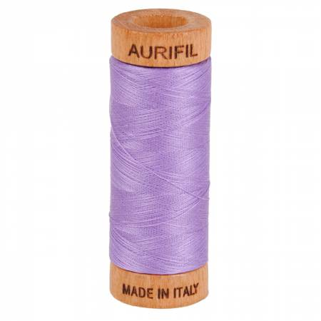 Aurifil Mako Cotton Thread 80wt 300yds - Violet 2520