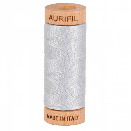 Mako Cotton Thread Solid 80wt 300yds Dove Grey