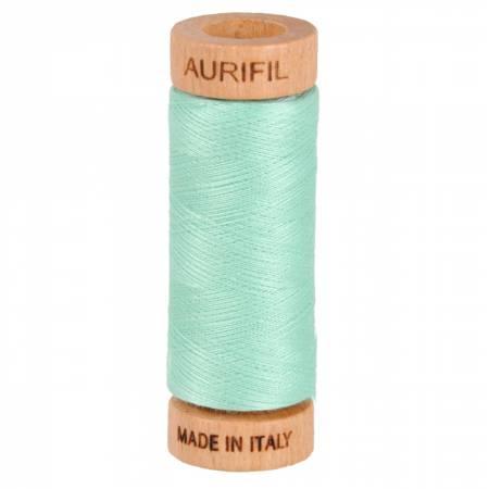 Mako Cotton Thread Solid 80wt 300yds Medium Mint 2835