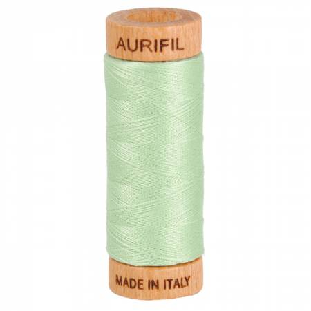 Mako Cotton Thread Solid 80wt 300yds Pale Green 2880