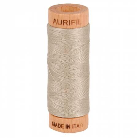 Mako Cotton Thread Solid 80wt 300yds Rope Beige 5011