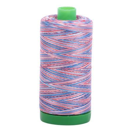 Aurifil Mako Cotton Thread 40wt 1094yds - Liberty Variegated 3852