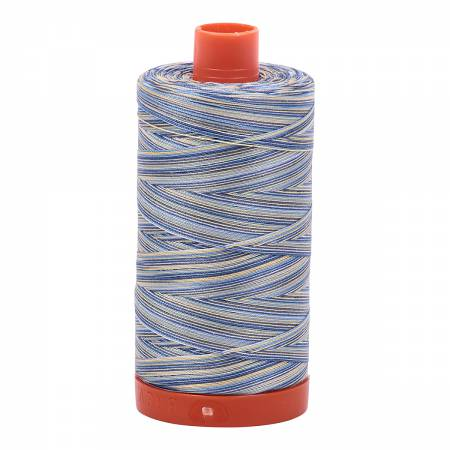 Aurifil Mako Cotton Embroidery Thread 50 wt. 1422 yds 4649