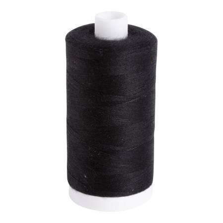 Aurifil Thread Bobbin 60wt 1531yds. Black