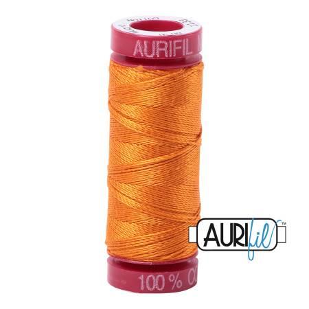 Aurifil Mako Cotton Thread 12wt 54yds - Bright Orange 1133