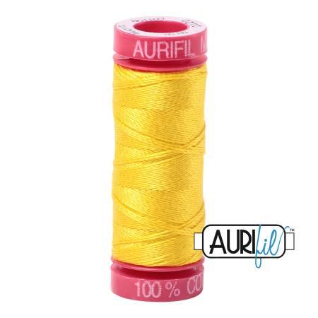 Aurifil Mako Cotton Thread 12wt 54yds - Canary 2120