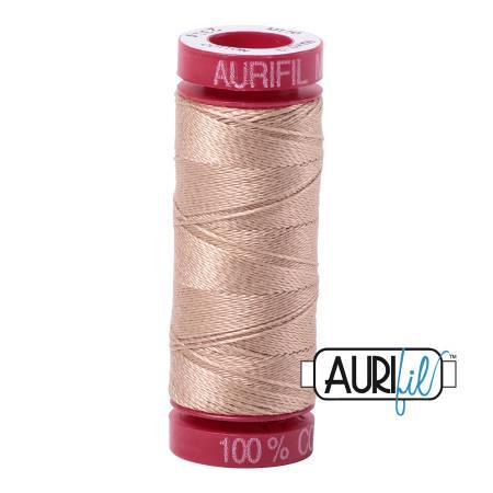 Aurifil Mako Cotton Thread 12wt 54yds - Beige 2314