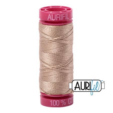 Aurifil Mako Cotton Thread 12wt 54yds - Sand 2326