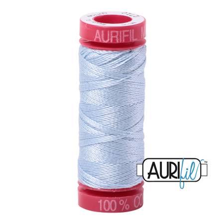 Aurifil Mako Cotton Thread 12wt 54yds - Light Robins Egg 2710