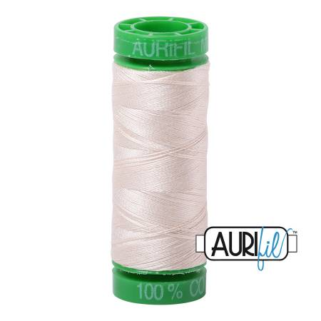 Mako Cotton Embroidery Thread 40wt 164yds Light Sand