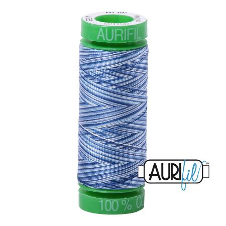 Mako Cotton Embroidery Thread 40wt 164yds Storm at Sea