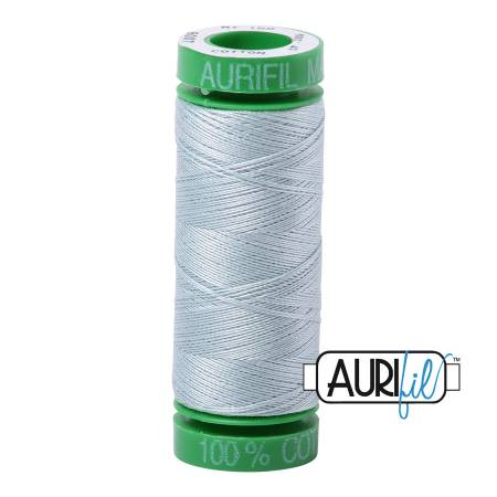 Mako Cotton Embroidery Thread 40wt 164yds Light Blue Grey