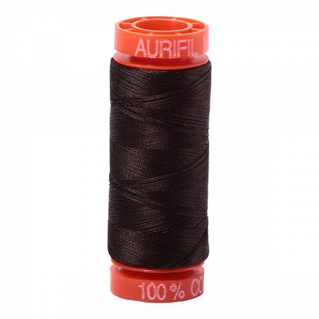 Aurifil Mako Cotton Thread Very Dark Bark