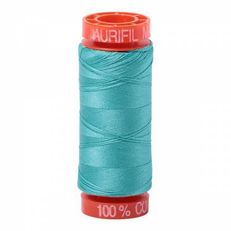 Mako Cotton Embroidery Thread 50wt 220yds Light Jade
