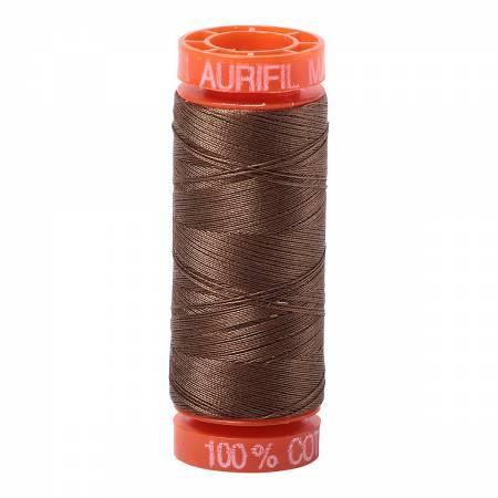 Aurifil 50wt 220yds 1318 - Dk Sandstone