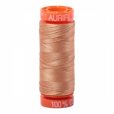 Aurifil Mako Cotton Thread 50wt 220yds - Light Toast 2320