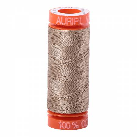 Aurifil 50wt 220yds 2325 - Linen