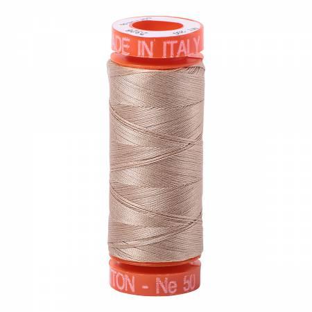 Cotton Thread 50wt 220yds Sand, 2326
