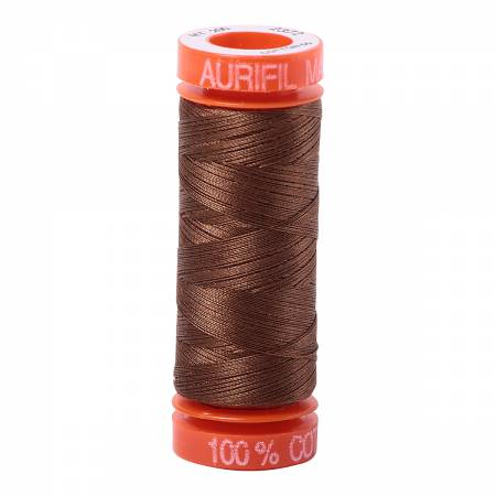 Aurifil Mako Cotton Thread Dark Antique Gold
