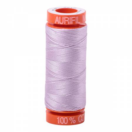 Mako Cotton Embroidery Thread 50wt 220yds Light Lilac