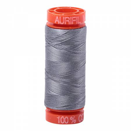 Aurfil Mako Cotton Thread Grey