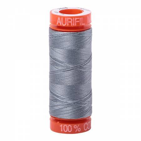 Mako Cotton Thread 50wt 220yds Light Blue Grey