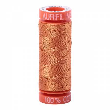 Aurifil Mako Cotton Thread 50wt 220yds - Medium Orange 5009