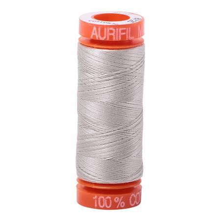 Aurifil Mako Cotton Thread 50wt 220yds - Moondust 6725