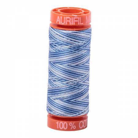 Thread 50wt 220yds Variegated Blue