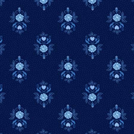 Dark Blue Little Bird Roses