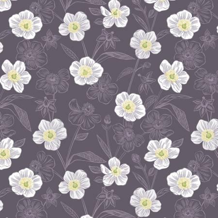Botanic Rambling Floral Dark