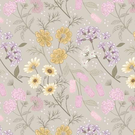 A457-1 Linen Garden Floral