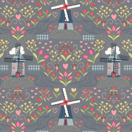 Lewis Irene Light Slate Windmills