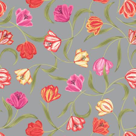 Grey Tulips