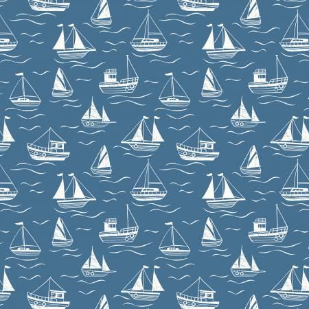 Dark Blue Boats