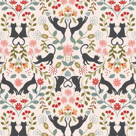 Love cats/Cream: Purrfect Petals (Lewis & Irene)