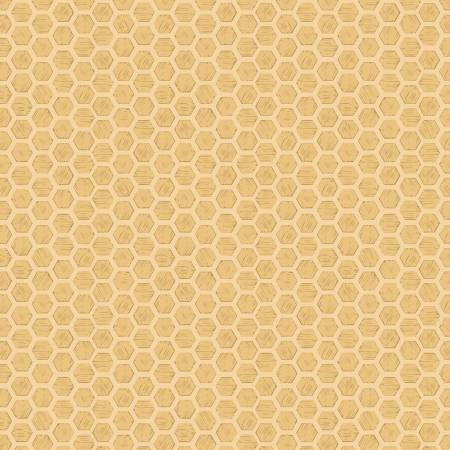 Queen Bee Honeycomb on honey