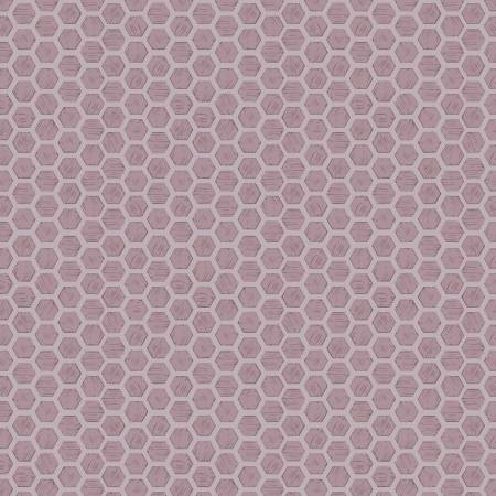 Queen Bee Honeycomb on Lilac