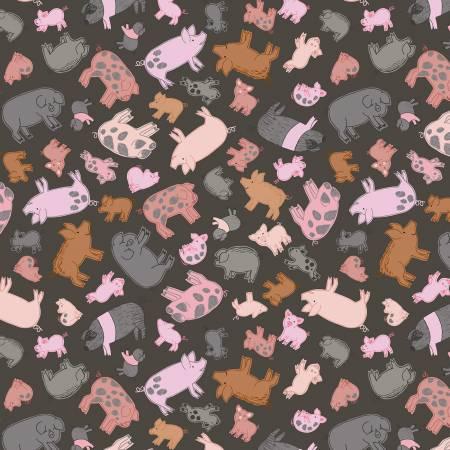 Piggy Tales - Piggies on dark mud