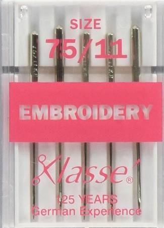 Klasse Embroidery Size 75/11