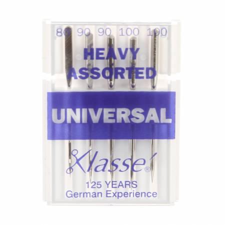 Klasse Universal Machine Needle Heavy Assortment Sizes 12-14-16