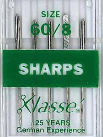 Klasse Sharp / Microtex Machine Needle Size 60/8